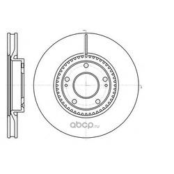 Тормозной диск (Remsa) 6121710
