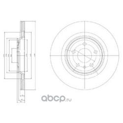 Тормозной диск (Delphi) BG4078