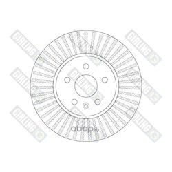 Тормозной диск (Girling) 6066291