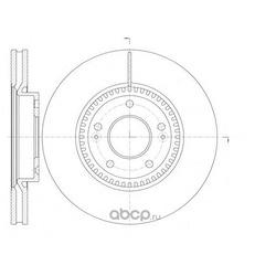 Диски тормозные передние (Nipparts) N3300533