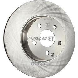 Тормозной диск (JP Group) 1363103500