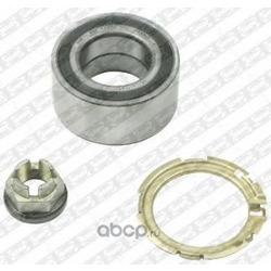 Подшипник ступицы колеса, комплект (NTN-SNR) R15507