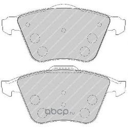 Комплект тормозных колодок, дисковый тормоз (Ferodo) FDB1706