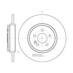 Тормозной диск (Remsa) 663100