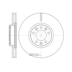Тормозной диск (Remsa) 6147210