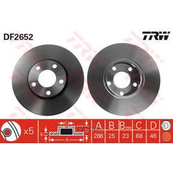 Тормозной диск (TRW/Lucas) DF2652