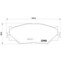 Колодки тормозные дисковые TEXTAR (Textar) 2398301