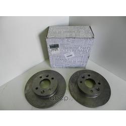 Тормозной диск (RENAULT) 6001549211