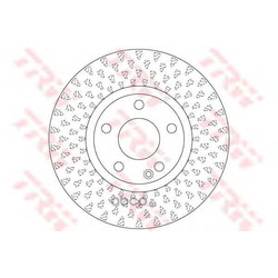 Тормозной диск (TRW/Lucas) DF6501