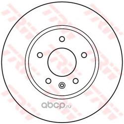 Тормозной диск (TRW/Lucas) DF4928S