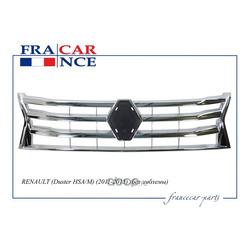 Решетка радиатора ХРОМ с эмблемой (Francecar) FCR210257