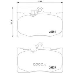 Колодки тормозные дисковые TEXTAR (Textar) 2032501