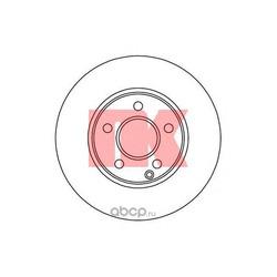 Тормозной диск (Nk) 2033106