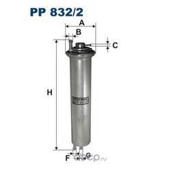 Фильтр топливный Filtron (Filtron) PP8322