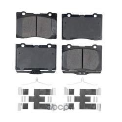 Колодки тормозные дисковые (Friction Master) CMX1091