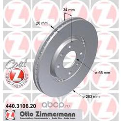 Тормозной диск (Zimmermann) 440310620