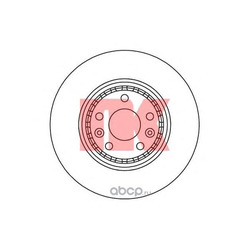 Тормозной диск (Nk) 203969