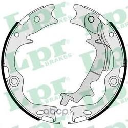 Комплект тормозных колодок (Lpr) 01116