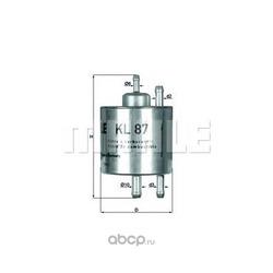 Топливный фильтр (Mahle/Knecht) KL87