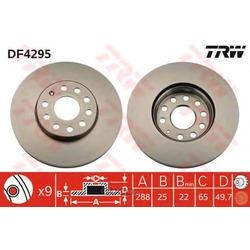 Тормозной диск (TRW/Lucas) DF4295