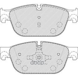 Комплект тормозных колодок, дисковый тормоз (Ferodo) FDB4313