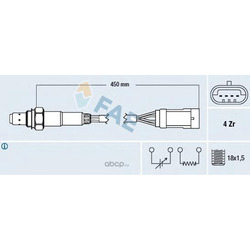 Лямбда-зонд (FAE) 77207