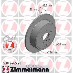 "Диск тормозной, ""Coat Z (Zimmermann) 530246520"