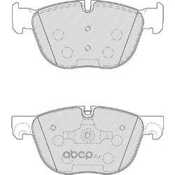 Колодки торм.пер. (Ferodo) FDB4052