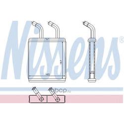 Теплообменник, отопление салона (Nissens) 77514