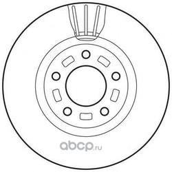 Тормозной диск (Jurid) 562635JC