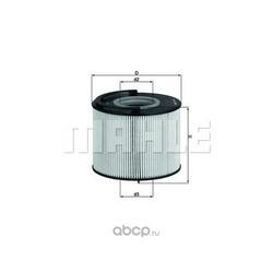 Топливный фильтр (Mahle/Knecht) KX192D