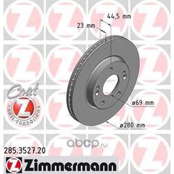 Тормозной диск (Zimmermann) 285352720