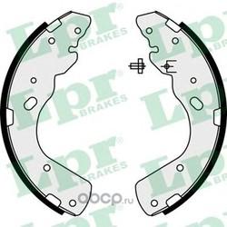 Комплект тормозных колодок (Lpr) 08450