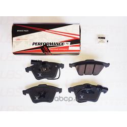 Колодки тормозные, комплект, передние (UBS) BP1102011