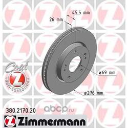 Тормозной диск (Zimmermann) 380217020