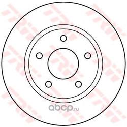 Диск тормозной вентилируемый (TRW/Lucas) DF4933