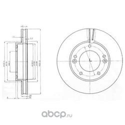 Тормозной диск (Delphi) BG3858
