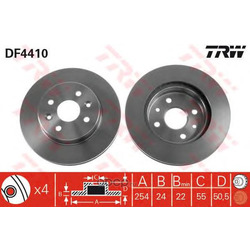 Тормозные диски (Hyundai-KIA) 51712FD300