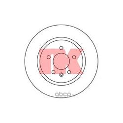 Тормозной диск (Nk) 203676