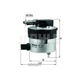 Топливный фильтр (Japanparts) FC320S