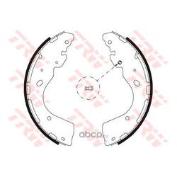 Комплект тормозных колодок (TRW/Lucas) GS8797