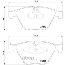 Колодки тормозные дисковые TEXTAR (Textar) 2331207
