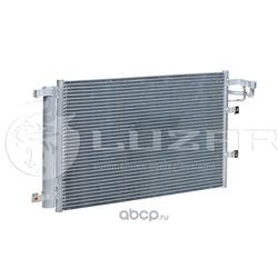 Радиатор кондиционера (конденсер) (Luzar) LRAC08F2