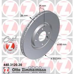 Тормозной диск (Zimmermann) 440312020