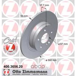 Тормозной диск (Zimmermann) 400365620