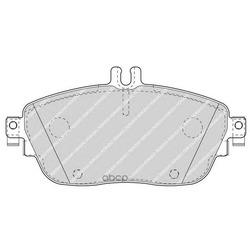 Комплект тормозных колодок (Ferodo) FDB4245