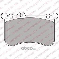 Комплект тормозных колодок, дисковый тормоз (Delphi) LP2291