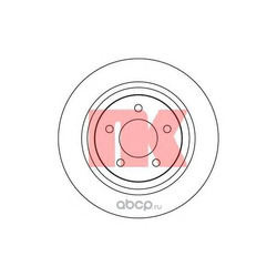 Тормозной диск (Nk) 203261