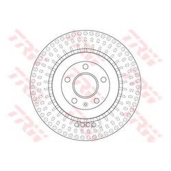 Тормозной диск (TRW/Lucas) DF6175S