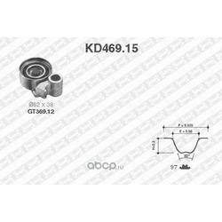 Комплект ремня ГРМ (NTN-SNR) KD46915